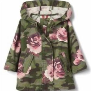 Baby Gap Camouflage Poncho
